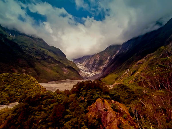 GLACIER VALLEY, NZ