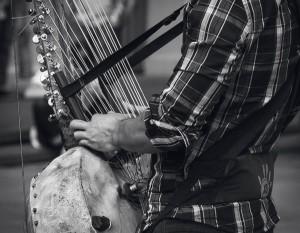 African Bass Harp (KORA)